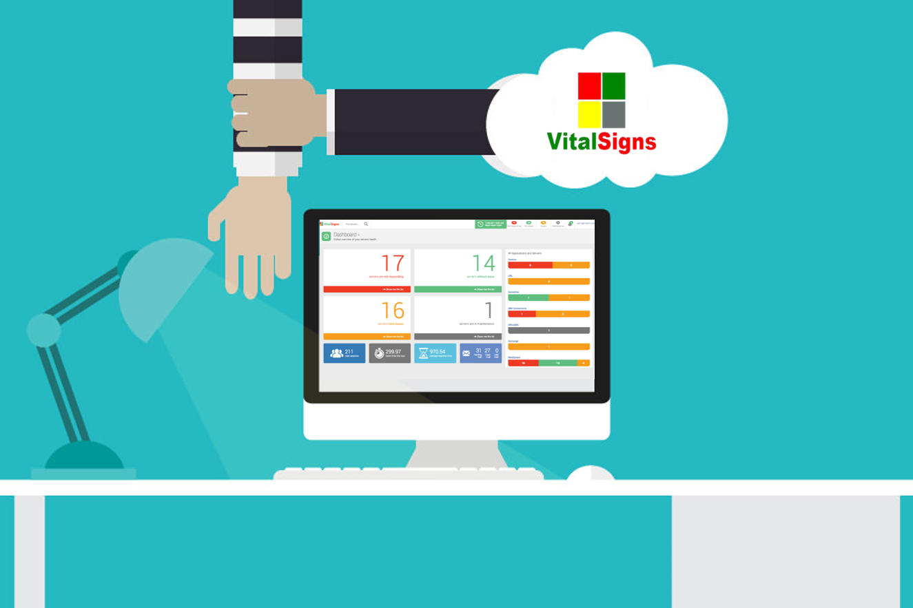 mitigating risk with in the cloud with vitalsigns server monitoring